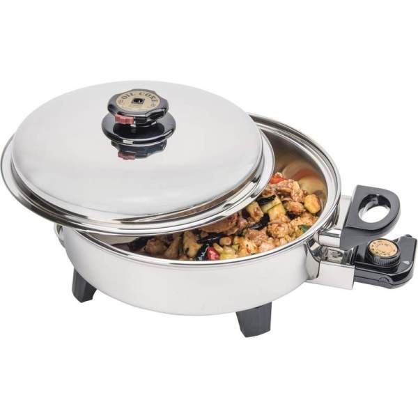 Electric Skillet Oil Core T304 Stainless Steel