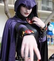 Raven - Teen Titans Cosplay`