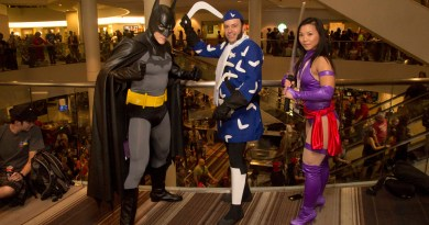 `Dragoncon - Cosplay - Batman Boomerang Psylocke