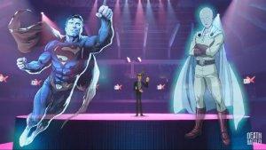 Superman vs Saitama