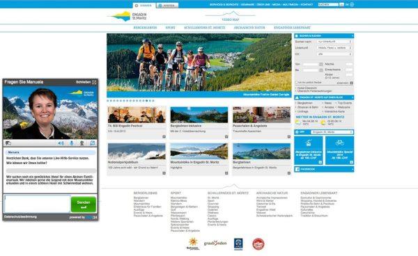 Engadin St. Moritz Chat MountainbikeChat