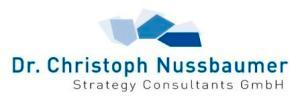 Dr. Nussbaumer Strategy Consultant