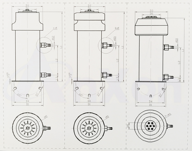 AnXon CCGS CCGSF TWXF Watercooled Power RF Capacitor