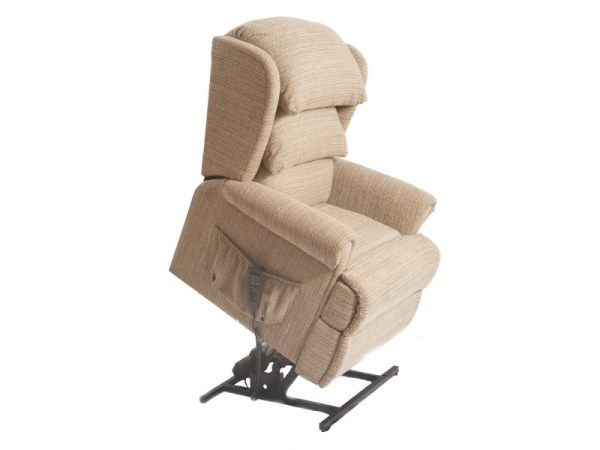 Riser Recliner - Admiral - White - Lifted