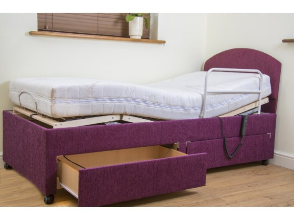 Bed - Bradshaw - with drawers