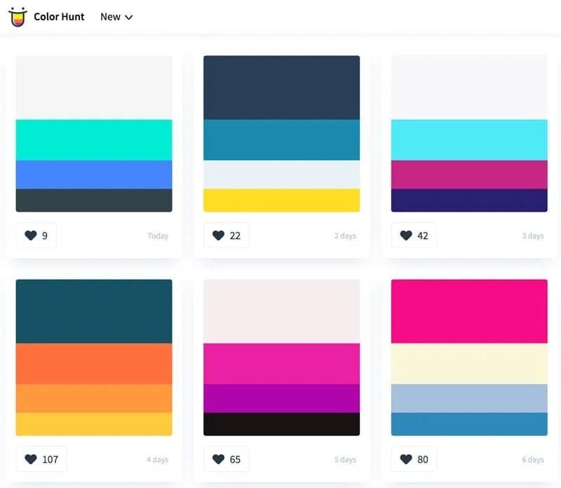 Paletas de colores para diseo web y branding 20 herramientas