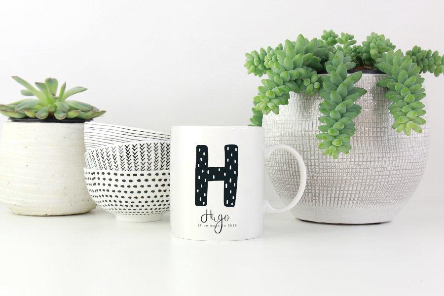 Taza porcelana