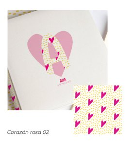 02 Corazón rosa 02
