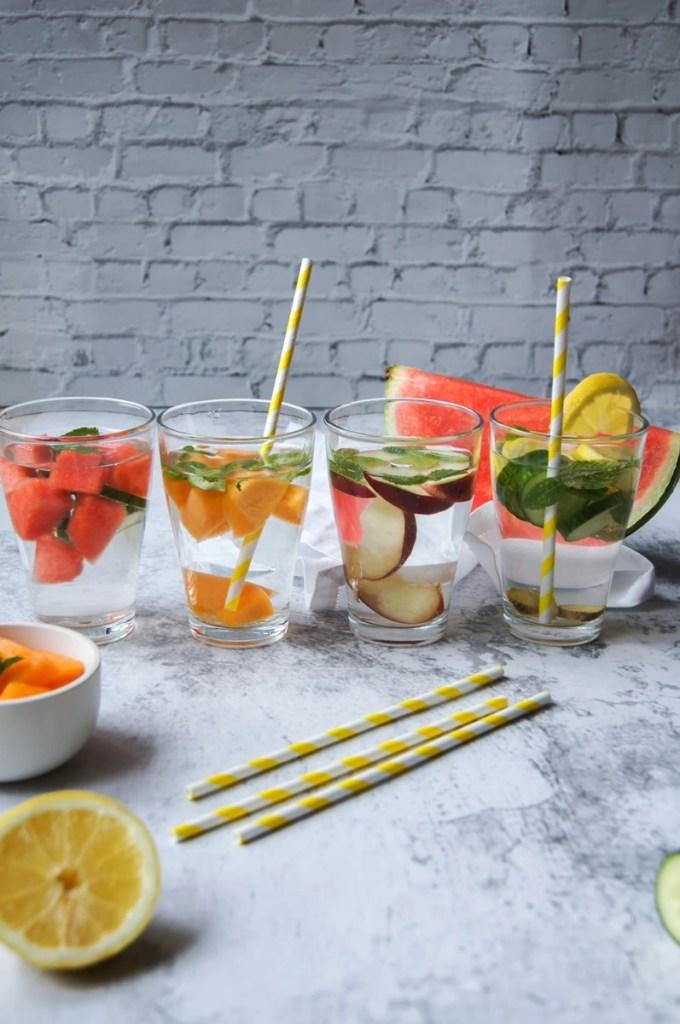 eaux aromatisées 4 recettes