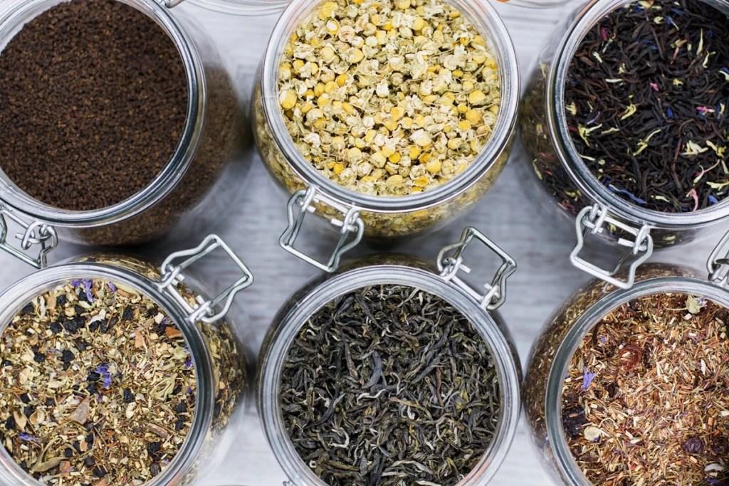Variétés de thé en vrac