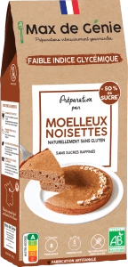 Packaging moelleux noisettes