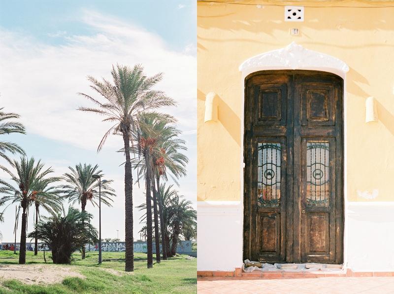 Valencia, Spain, Beach, Palm Trees, Doors, Bohemia Gathering