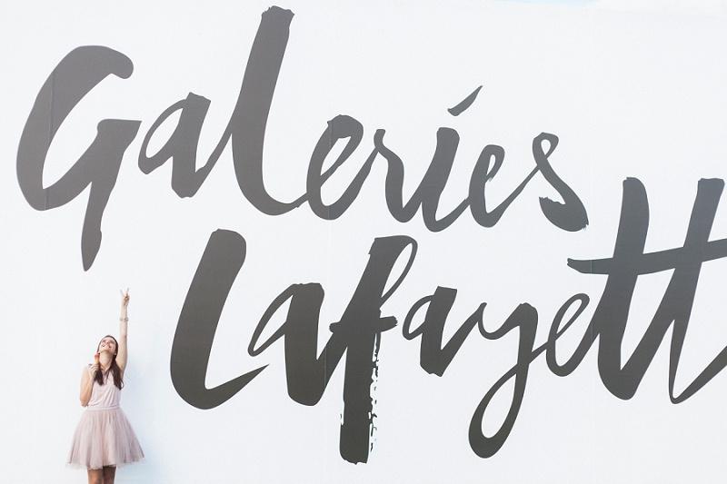 Sylvia Dennis, Sylvia's Sparkles, Galeries Lafayette
