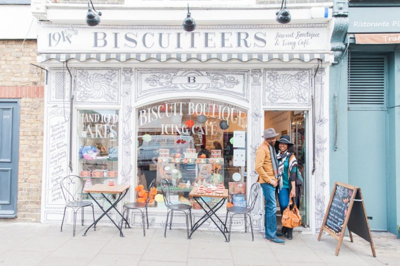 Biscuiteers Couple Shoot Nottinghill