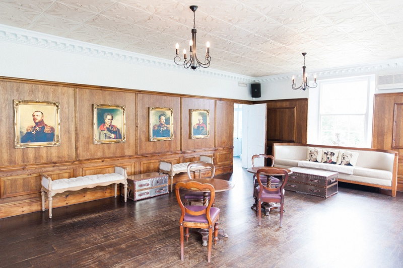 Cocktail room at Belair House
