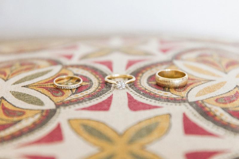 Rings on a Tribal Print at Lake Eland Game Reserve