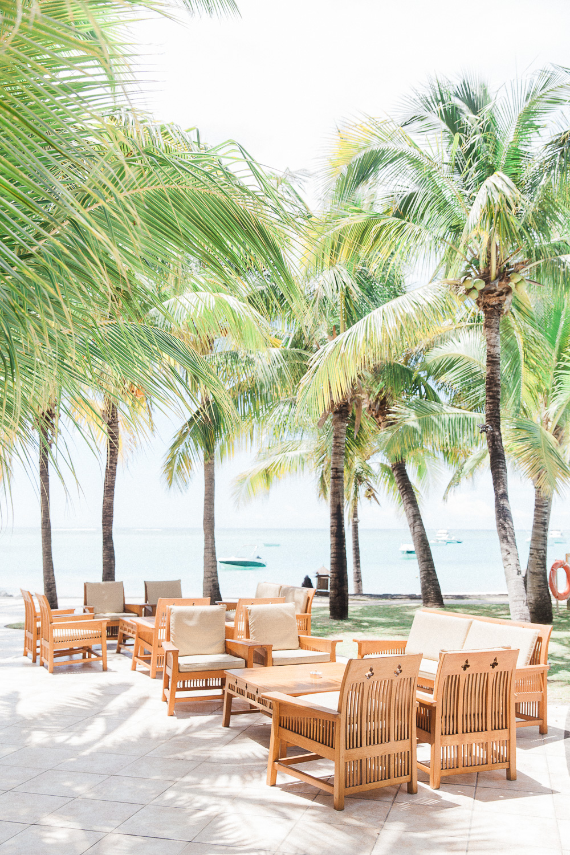 Restaurant on the beach at Dinarobin Beachcomber Golf Resort and Spa wedding venue in Mauritius