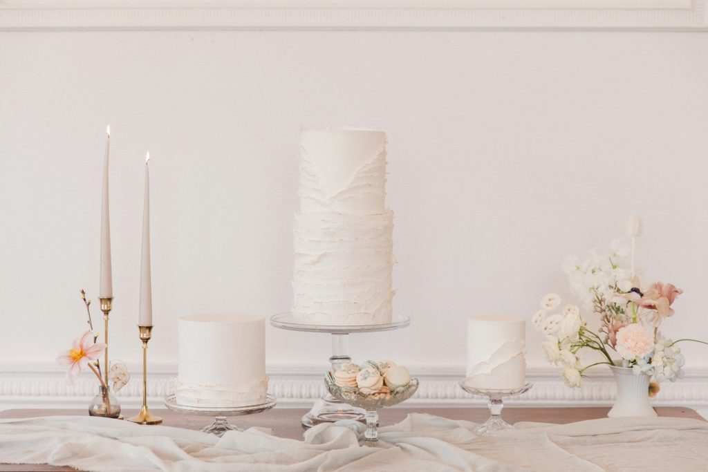 Beatrix Potter inspired wedding cake table by Anna Lewis Cakes