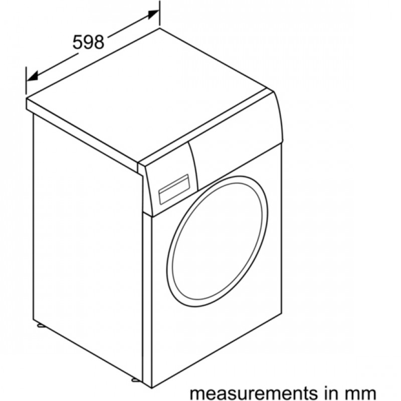 Buy Bosch WAN28001GB 1400 Spin 7kg Washing Machine