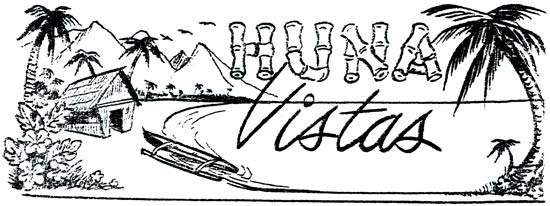 Max F. Long, Vol 9 (1959-60), English HUNA VISTAS