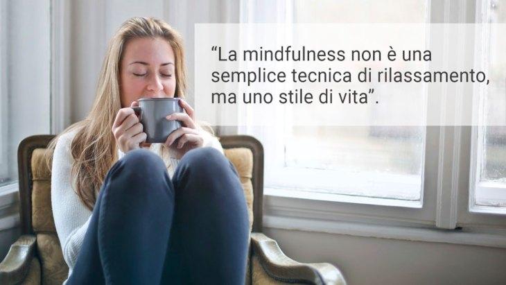 La mindfulness non è solo una tecnica per il rilassamento