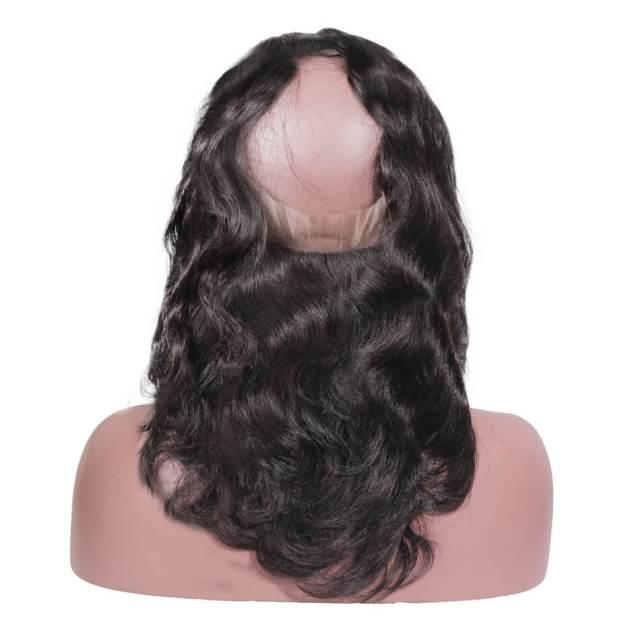 18 inch hair weave   peruvian hair   body wave hairstyles   medium length   human hair   8a premium   black hair - maxglam