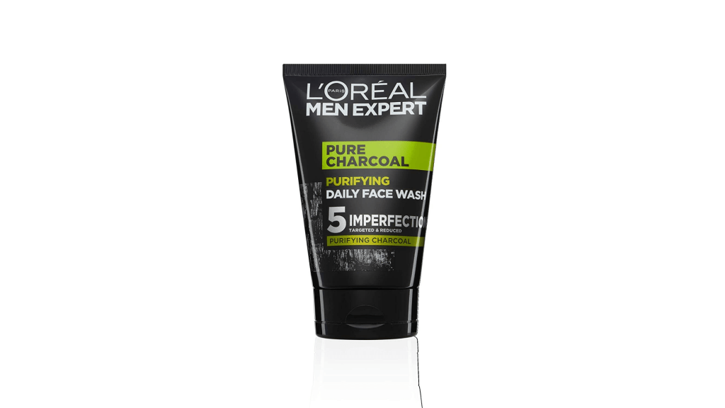 loreal men expert pure charcoal best face wash for men