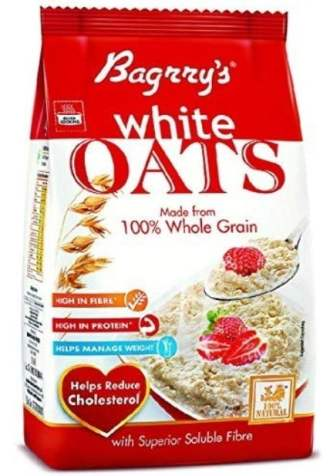 Bagrry's oats, one of the best oats brand in India