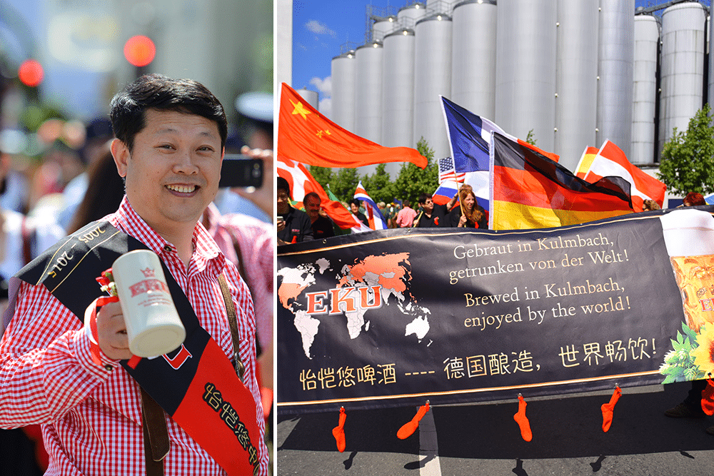 Kulmbacher-Bierwoche-Bierfest-Fanumzug-eku-kapuziner-mönchshof-fanclub-internationale-gäste-china-usa-amerika-kulmbach