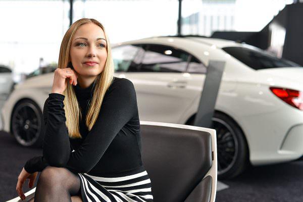 She´s Mercedes Portrait Fotoshooting