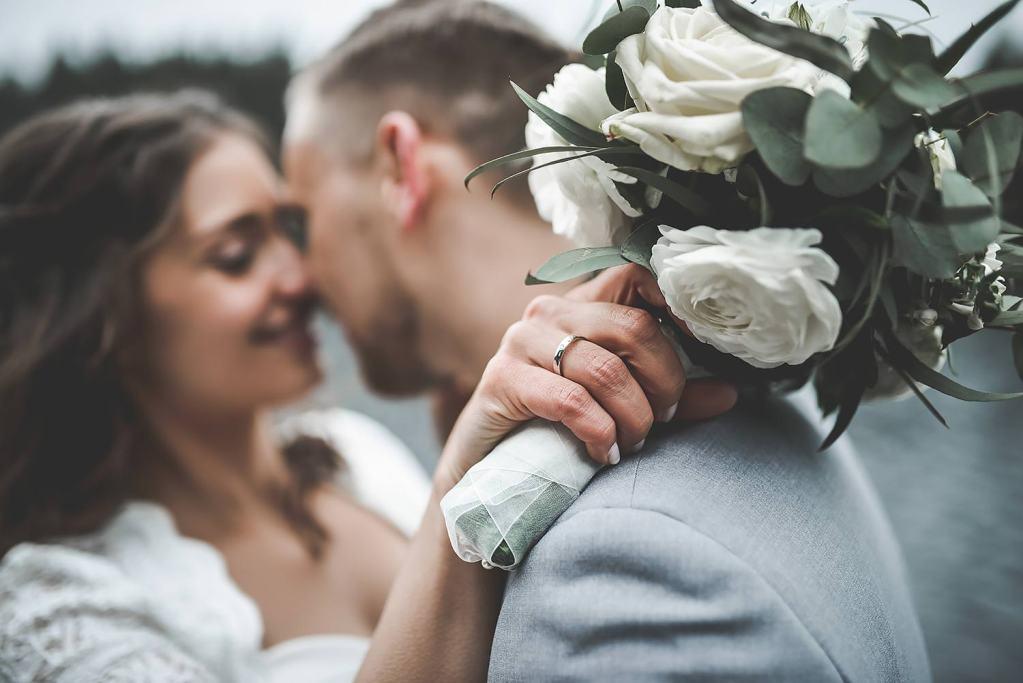 Hochzeitsfotos im vintage stil