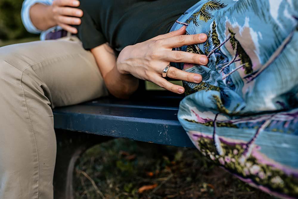 Liebespaar Fotoshooting Before Wedding