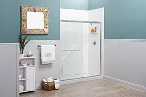 can you install a shower surround over