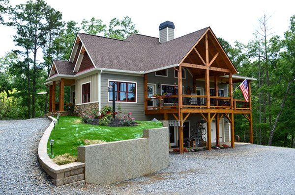 lake wedowee creek retreat house