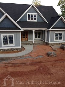 Craftsman Style House Plans with Walkout Basement