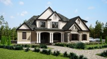 Southern Style House Plans with Porches
