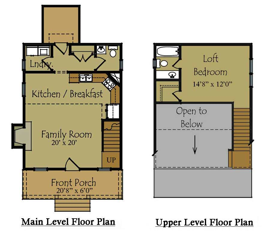 Small Guest House Plan  Guest House Floor Plan