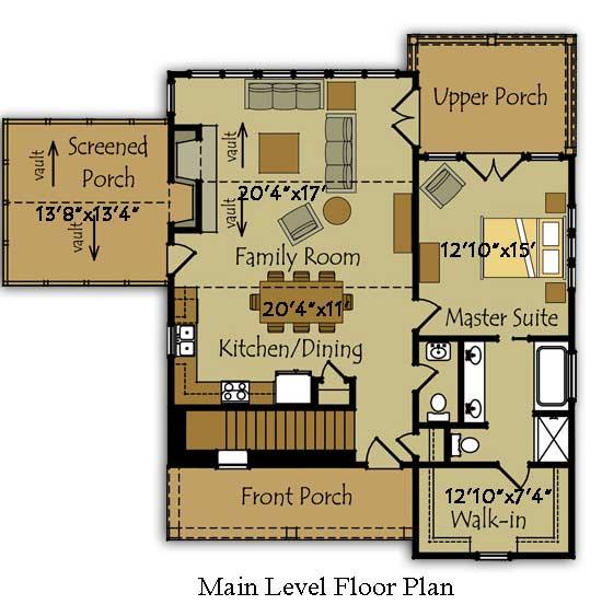 2 Story Craftsman House Plans