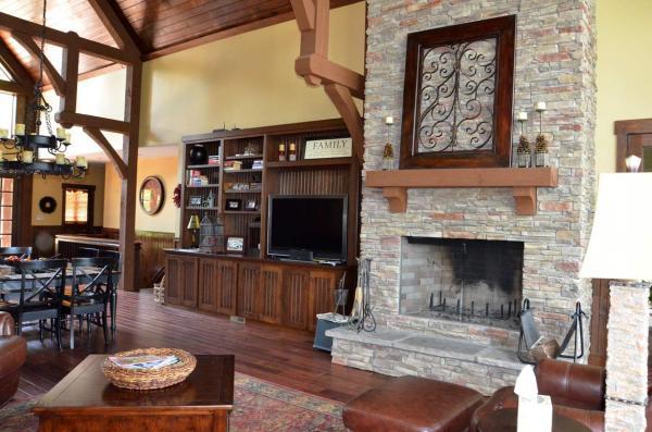 Appalachia Mountain -frame Lake House Plan