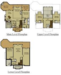 3 Story Open Mountain House Floor Plan | Asheville ...