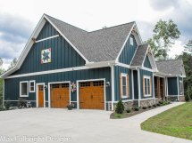 Two Story Craftsman House Plan Country
