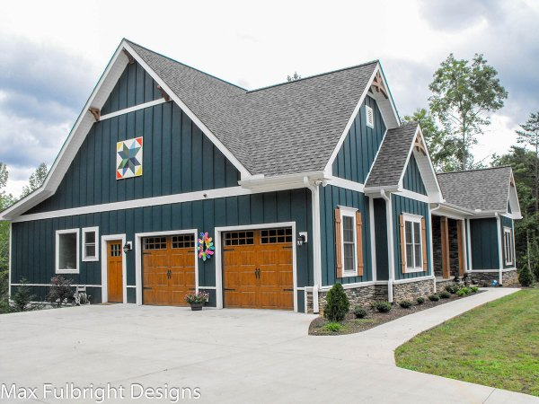 2 Story Craftsman Farmhouse House Plan