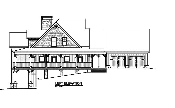 Open Floor Plan With Wrap Around Porch Banner Elk II