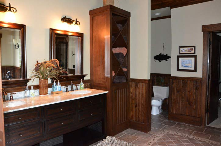 Bathroom Pictures  Lake and Mountain Bathroom Photos