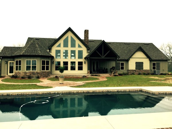 One Story Rustic House Plans