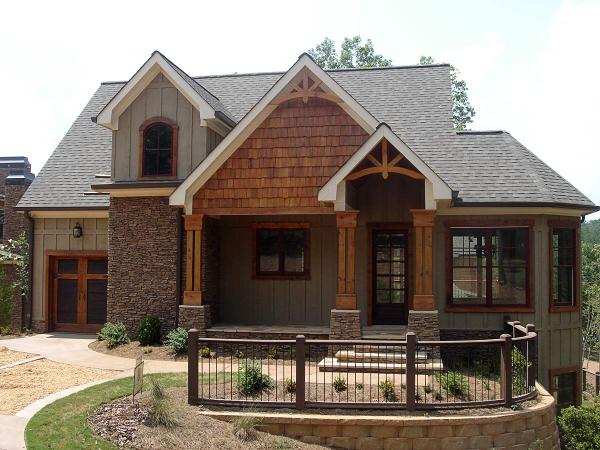 Rustic Mountain Home House Plan