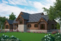 Rustic Dog Trot House Plans