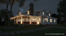 Modern Farmhouse Floor Plan With Wraparound Porch Max