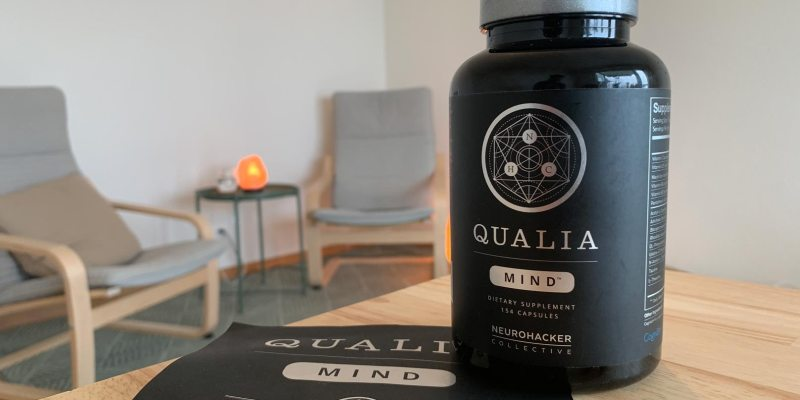 A bottle of Qualia Mind