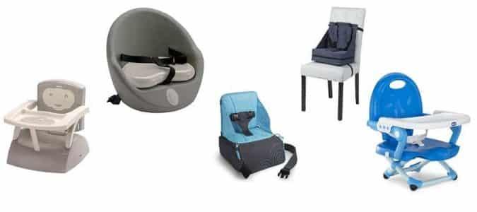 rehausseur de chaise comparatif